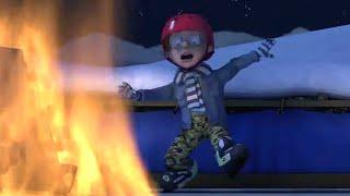 Strażak Sam ❄️ Ogień na lodowisku! | Najlepsze akcje ratownicze | Kreskówki dla dzieci