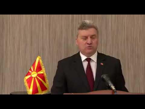 Ѓорге Иванов. Официјален говор по повод Законот за јазици!