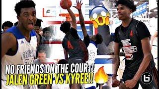 NO FRIENDS on The COURT! #1 Jalen Green vs #2 Kyree Walker MOST EPIC BATTLE OF 2018!! (So Far)