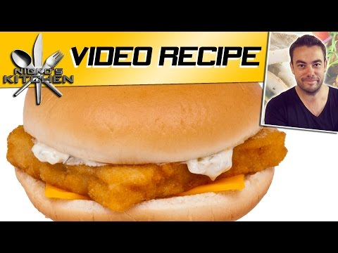 How To Make McDonalds Fillet O Fish