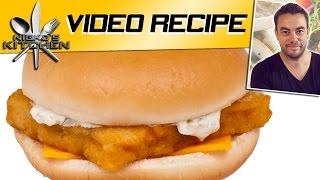 Mcdonalds Fillet 'o' Fish - Video Recipe