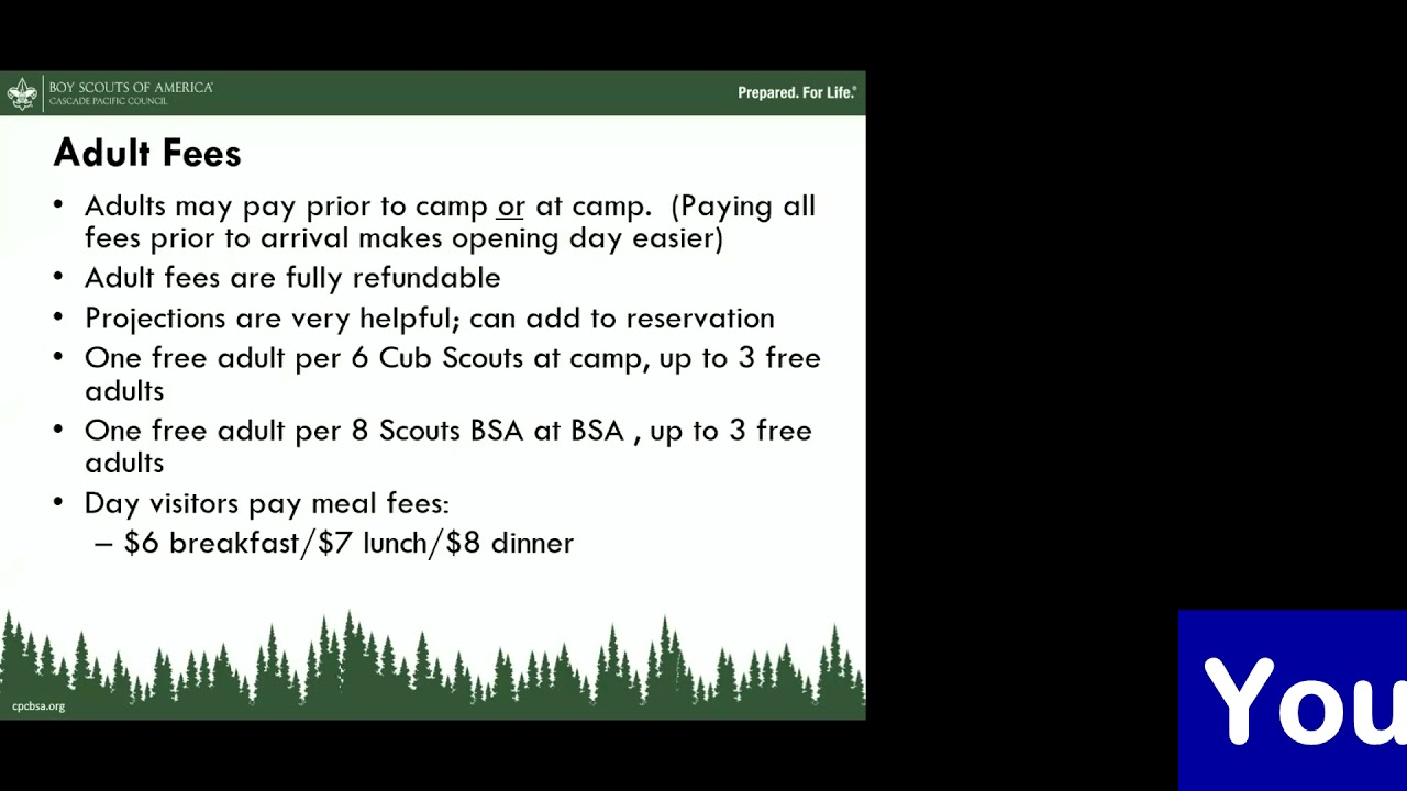 Pre-Camp Leader Meetings - Scout Camps NW | Cascade Pacific Council, BSA