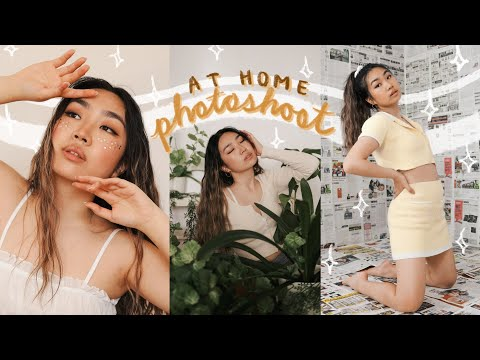 Home Photoshoot Ideas In Quarantine (how I Take Self Timer Pics For Instagram) | JENerationDIY