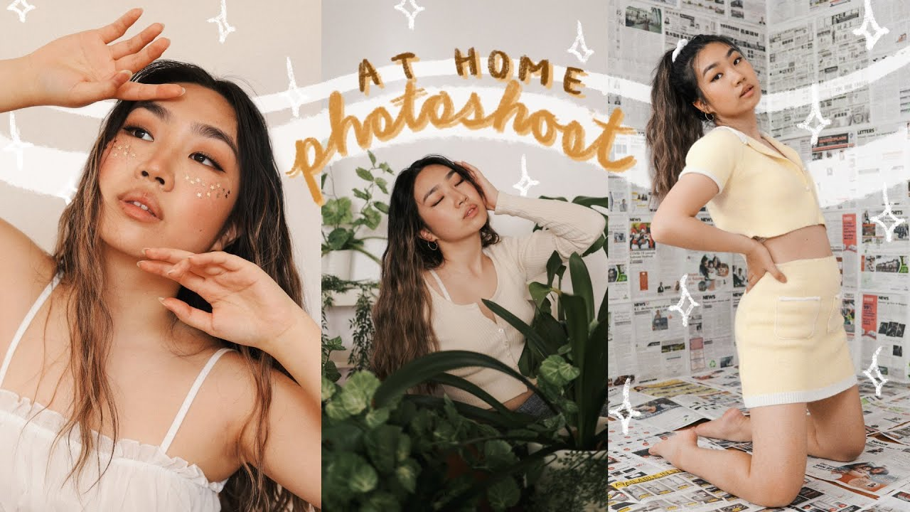 Home Photoshoot Ideas In Quarantine How I Take Self Timer Pics For Instagram Jenerationdiy Youtube