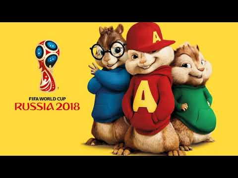 Live It Up - Alvin and The Chipmunks (OFFICIAL SONG FIFA WORLD CUP 2018)