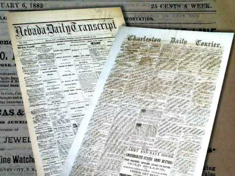 Collecting 19th Century Authentic Newspapers