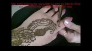 Bella Beauty College: Henna Tattoo Thumbnail