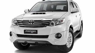 New TOYOTA Fortuner 2017| Drawing Picture|Teaching How to Draw !!!