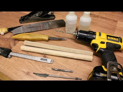 Basic Knife Handle Fitting Techniques - Lee Stoffer