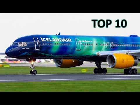 MY TOP 10 Special Aircraft Livery