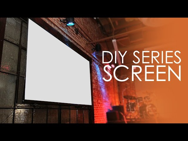 Elite Screens DIY Series