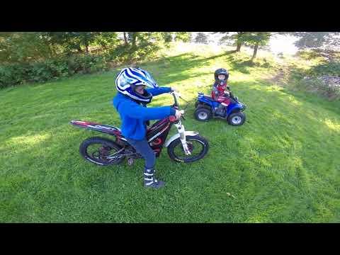 oset 12.5R 20.0R 50cc quad oliver big spud thomas william kids are amazing