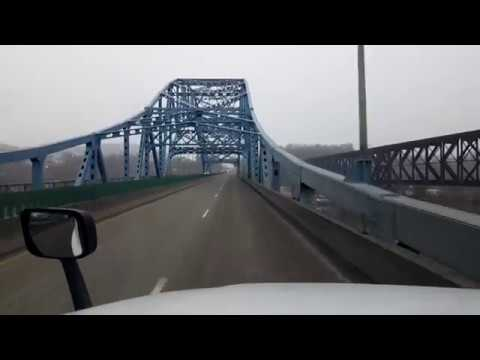 BigRigTravels LIVE! Smithton, Pennsylvania to Springfield, Ohio Interstate 70 West-Jan. 17, 2019