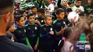 embeded bvideo Guerreros de Corazón - Actividad Social Monterrey (Clausura 2018)