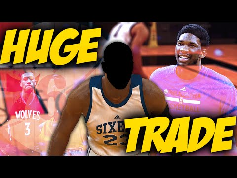 NBA 2K17 Philadelphia 76ers MyGM - HUGE TRADE! New PG!! [Ep.3]