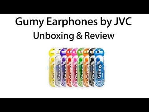 Gumy Earphones By JVC: Unboxing And Review