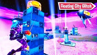 How to get *Floating City* in Fortnite Main Island! (Season 9 Glitch)