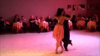 """Juan Carlos Martinez y Nora Witanowsky """"La Maleva"""" - Torino 16 Novembre 2012"""