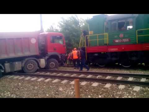 Крупная авария 06.06.2018  примерно в 6 00 в Люберцах в районе транспортной улицы