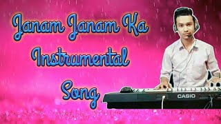 Janam Janam Ka Saath Hai Hamara Instrumental Song CTX 700 Casio Keyboard Fl Studio Edit By Pradeep