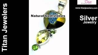 925 Sterling Silver Natural Drusy Druzy Gemstones Handmade Jewelry