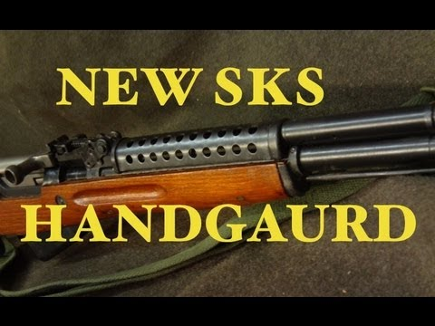 SKS with Metal ventalated handguard review