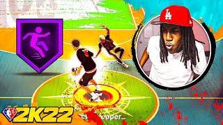 HOF ANKLE BREAKER IS GAME BREAKING IN NBA 2k22! BEST DRIBBLE MOVES & COMBOS!