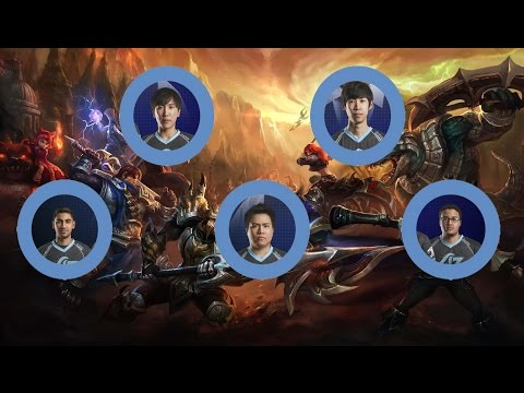 CLG ranked 5's Acolytes of Peng | doublelift pov game #2 |