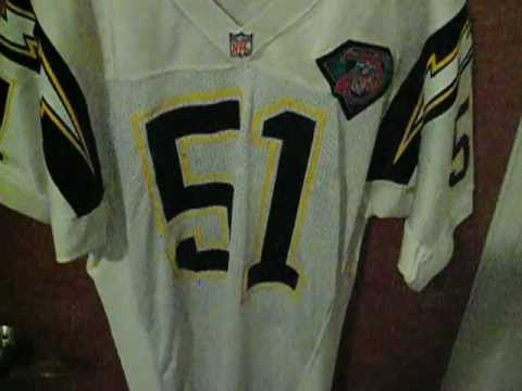 San Diego Chargers Terry Crews Nfl Game Jersey Youtube