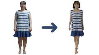못 입던 옷 살뺀후 입어봤습니다 (다이어트 후 얼굴변화…