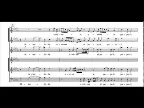 Gesualdo - O vos omnes (Resp. de Sabbato Sancto)
