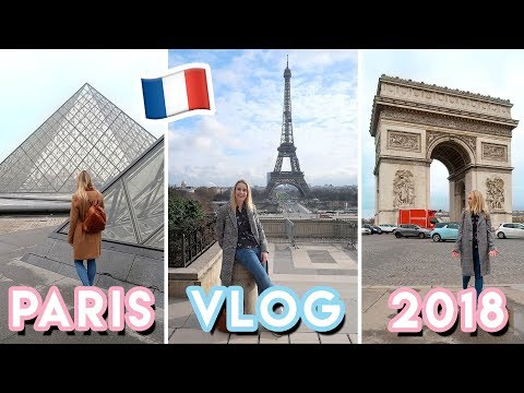 Paris Travel VLOG 2018 📸 Come sightseeing with us! | Becky Excell