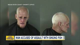 Florida man slapped with Big Mouth Billy Bass singing fish after argument, police say