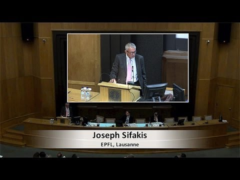 Joseph Sifakis - Hellenic Innovation Forum 1st Conference