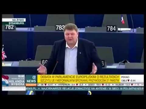 Szwedzki europoseł upokorzył Tuska w PE! Cała prawda o Tusku.