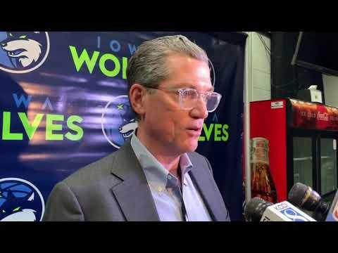 Timberwolves Gm Scott Layden Is Confident In Interim Coach Ryan