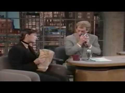 Demi Moore Interview on Letterman ( RARE) - YouTube