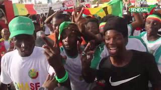 L'euphorie des sénégalais après la qualification des Lions