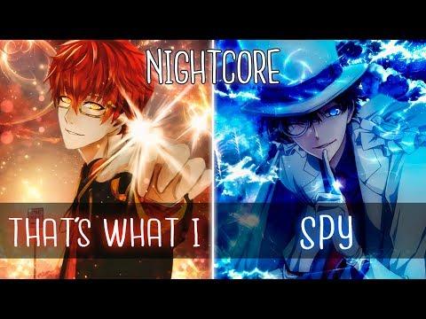 「Nightcore」That's What I Like X iSpy  [Mashup   Switching Vocals]