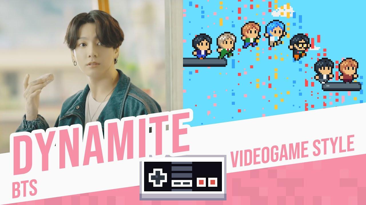 DYNAMITE, BTS - Videogame Style