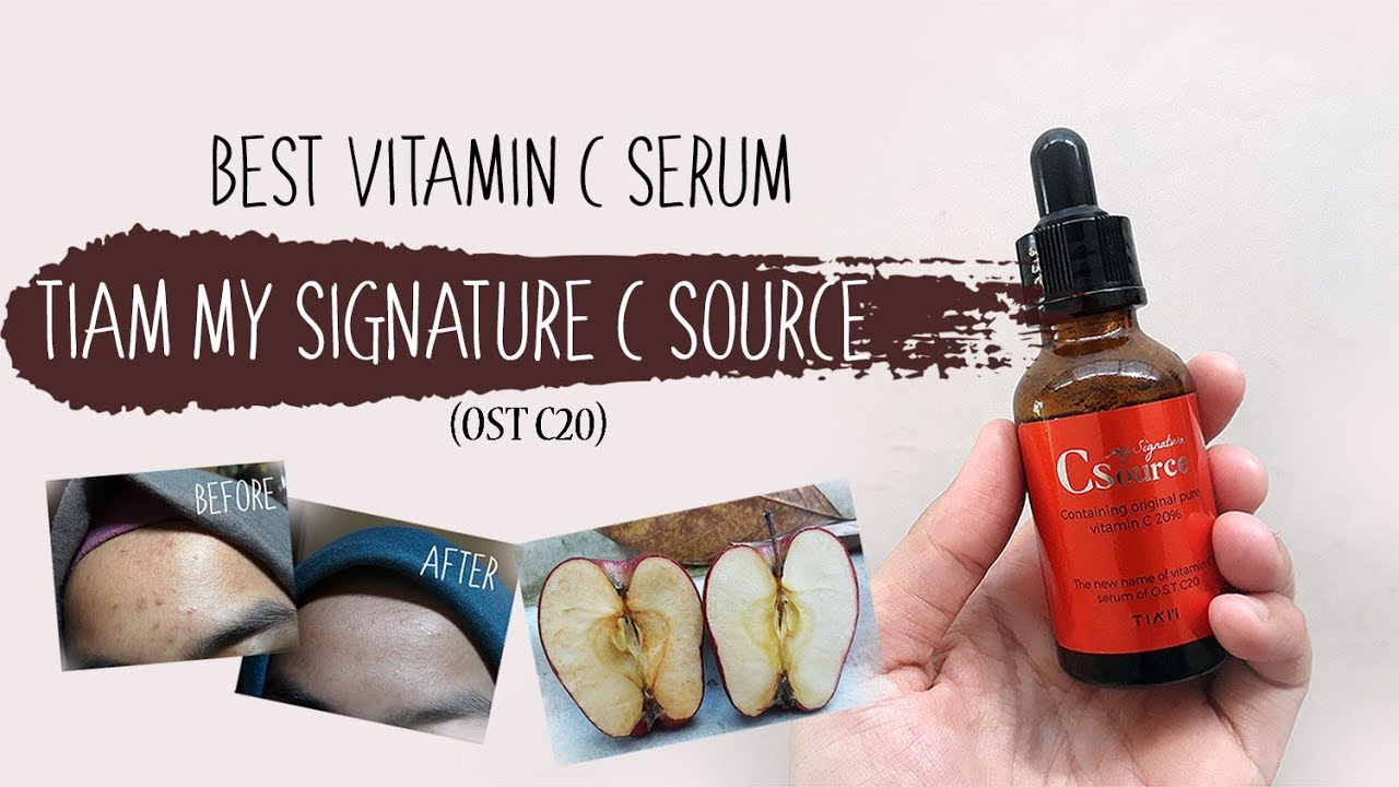 Tiam My Signature C Source Ost C20 Best Vitamin Serum Youtube Original Pure 30ml
