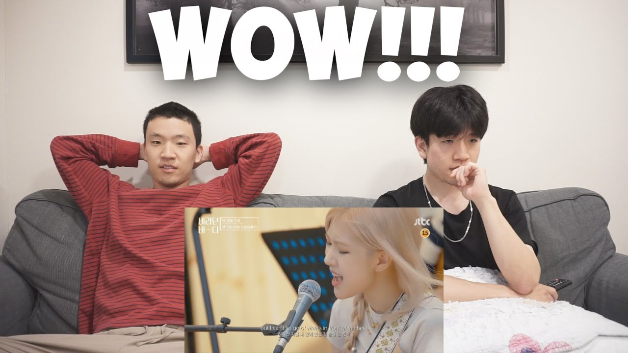 ROSÉ - Because I Love You & The Only Exception on 'Sea of Hope' REACTION!!! [VOCALS!!!]