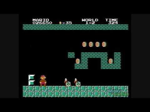 Super Mario Bros Underworld Theme - YouTube