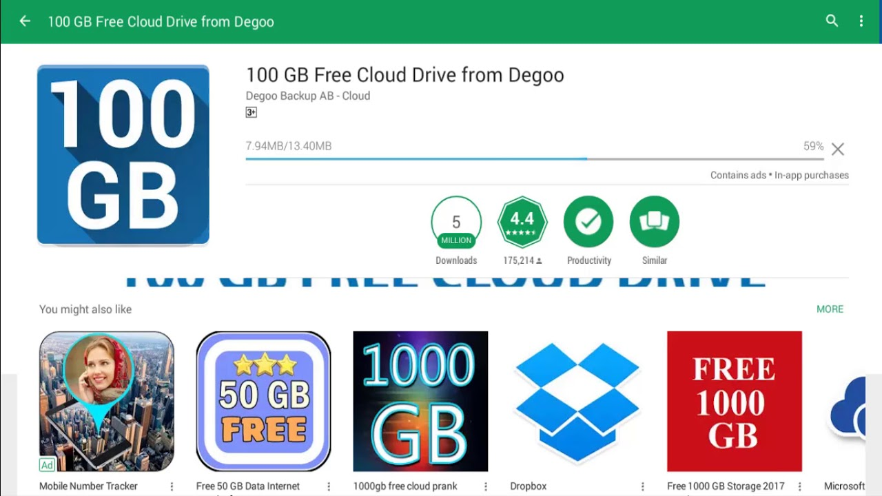 100 Gb Of Free Cloud Storage To Backup Your Android Bullfrag