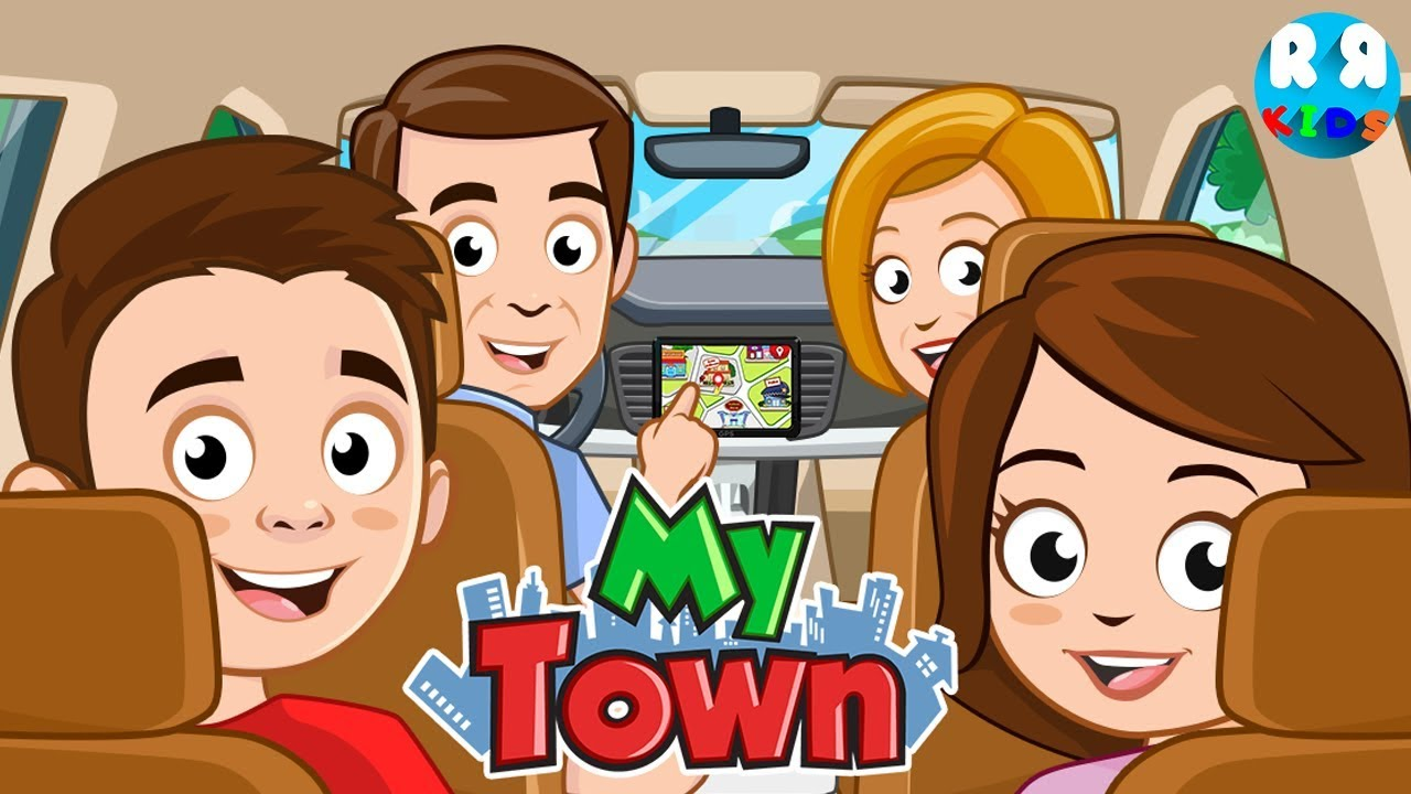My Town Update Car And Taxi A Weekend With The Family Youtube