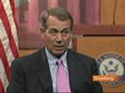 Boehner Calls for TARP to Be Used to Cut Budget Deficit: Video
