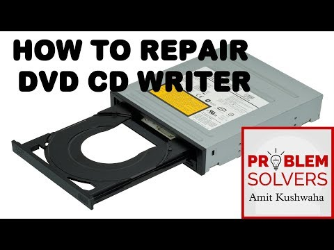 How to Repair DVD CD Writer,How to clean DVD or CD Rom Lens,dvd cd writer not working