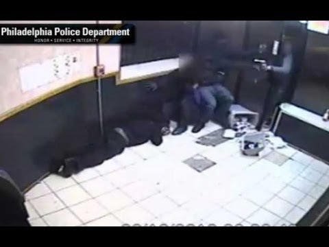 Police release CCTV showing Philadelphia shooting