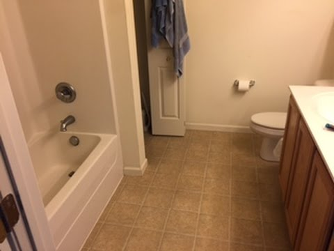 How to convert a tub/shower to a walk in shower Part 1