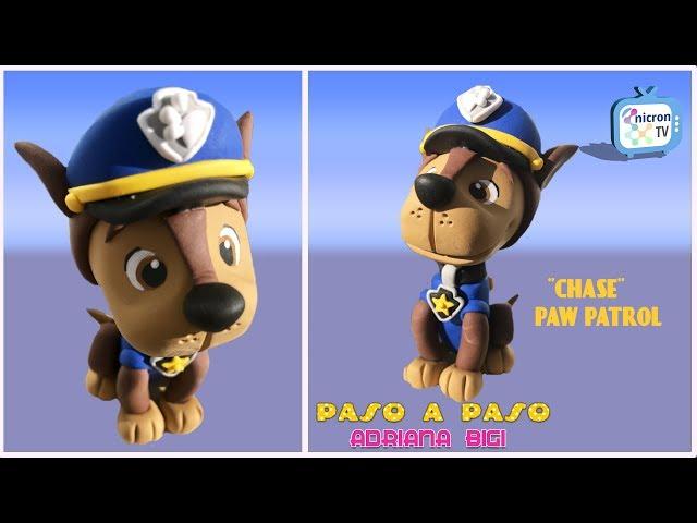Paso a paso: ¨Chase¨ Paw Patrol. Realizado por Adriana Bigi